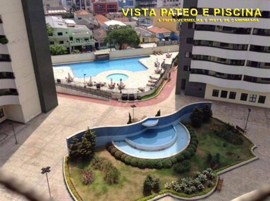 Apartamento residencial à venda. 142 m², 3 suítes, 3 vgs e sacada gourmet!!! Centro, Santo André.