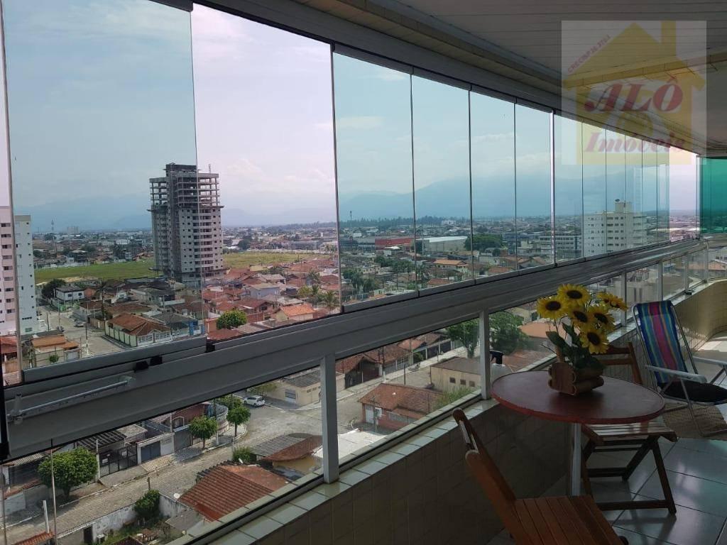 Apartamento à venda, 70 m² por R$ 390.000,00 - Vila Guilhermina - Praia Grande/SP