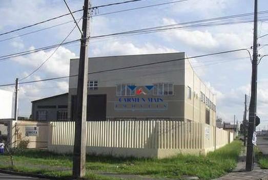 Barracão para alugar, 420 m² por R$ 6.000/mês - Ouro Fino - São José dos Pinhais/PR