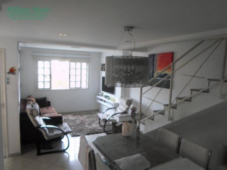 Sobrado com 3 dormitórios à venda, 142 m² por R$ 850.000 - Ponte Grande - Guarulhos/SP
