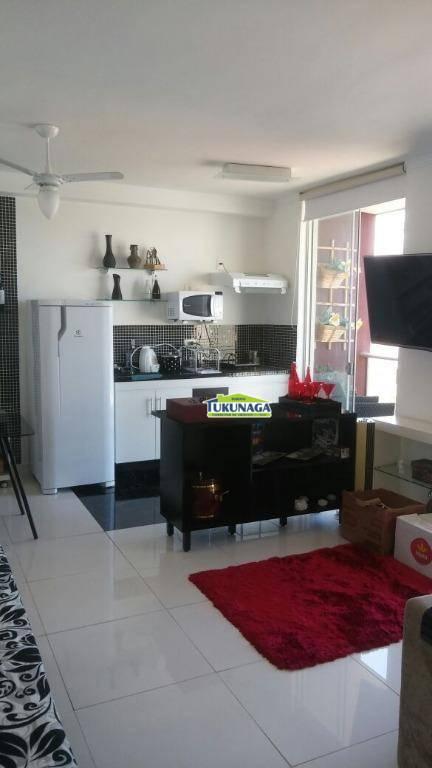 Studio residencial para locação, Vila Augusta, Guarulhos - ST0029.