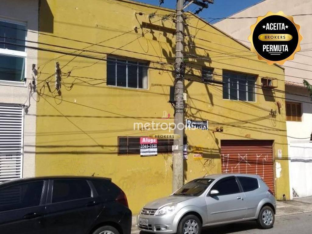 Galpão comercial para venda e locação, Santa Maria, São Caetano do Sul.