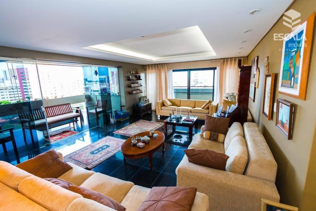 Apartamento com 4 quartos à venda, 330 m², 3 vagas, área de lazer, - Meireles - Fortaleza/CE