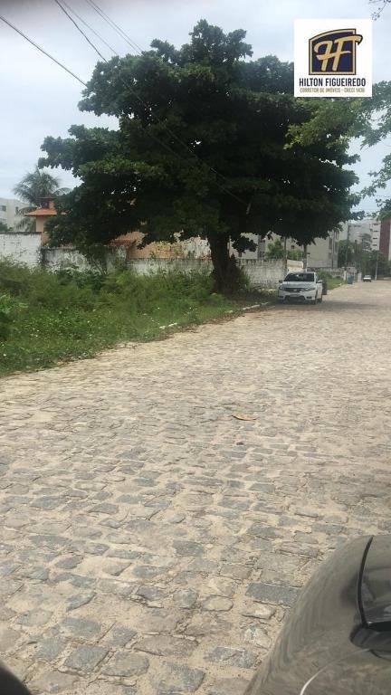 Vendo 2 terrenos juntos de 12x28 em Ponta de Campina  proximo ao mar de R$ 450 mil, sem laudemio