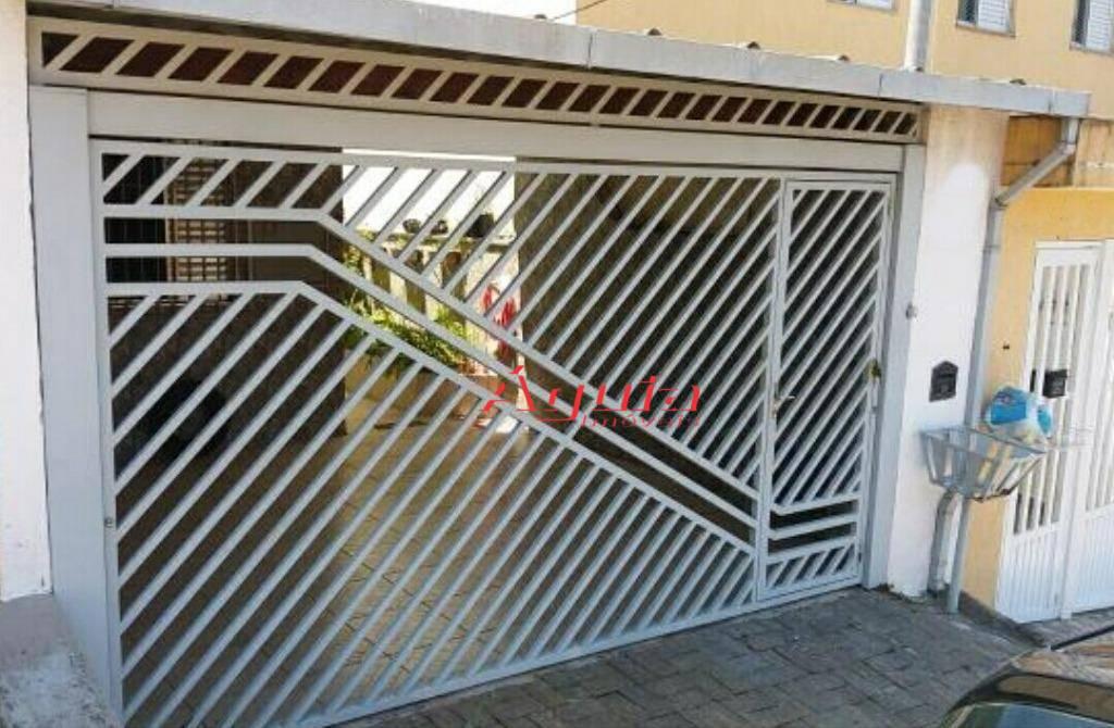 Casa com 2 dormitórios à venda, 91 m² por R$ 320.000 - Vila Silvestre - Santo André/SP