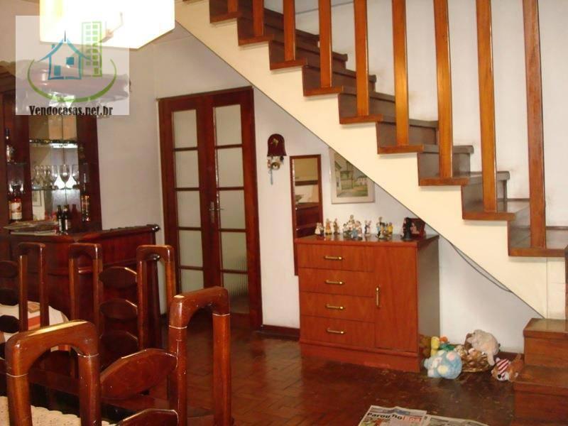 Sobrado de 3 dormitórios à venda em Chácara Santo Antônio (Zona Sul), São Paulo - SP