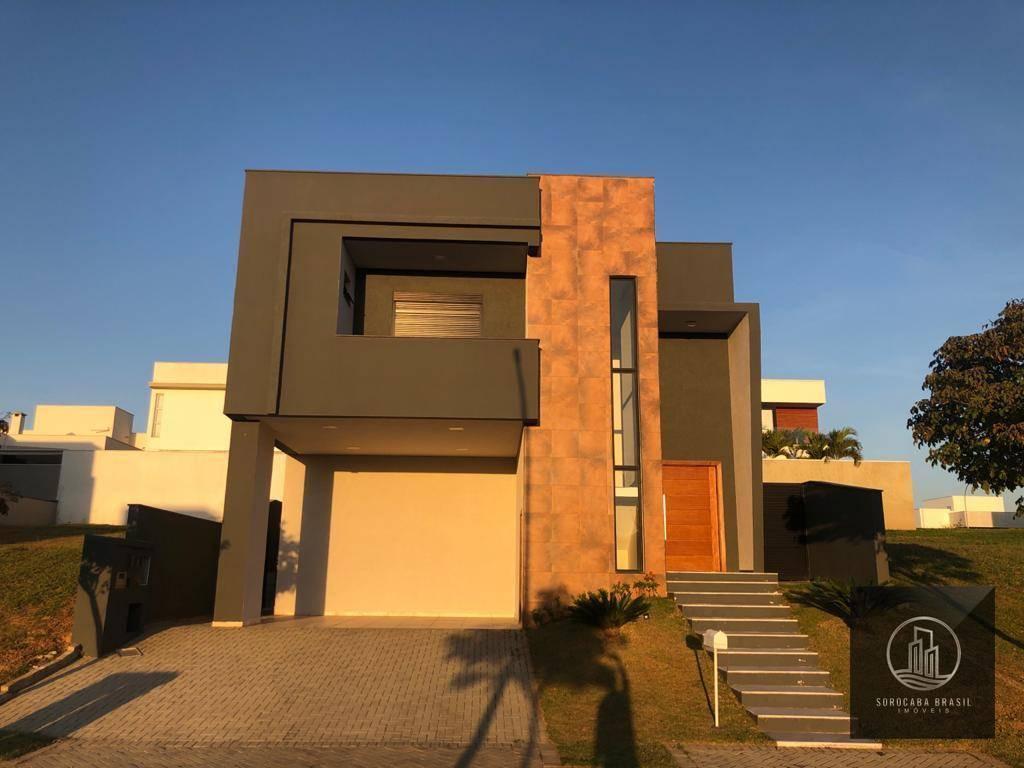 Sobrado com 5 dormitórios à venda, 346 m² por R$ 2.200.000 - Alphaville Nova Esplanada I - Votorantim/SP