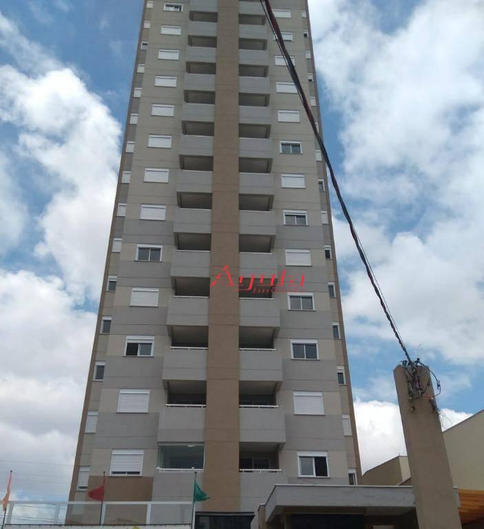 Apartamento com 2 dormitórios à venda, 52 m² por R$ 310.000 - Vila Scarpelli - Santo André/SP