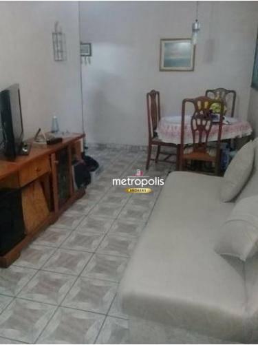 Apartamento à venda, 72 m² por R$ 370.000,00 - Osvaldo Cruz - São Caetano do Sul/SP
