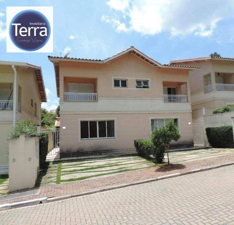Casa residencial para locação, Nova Vianna, Granja Viana.