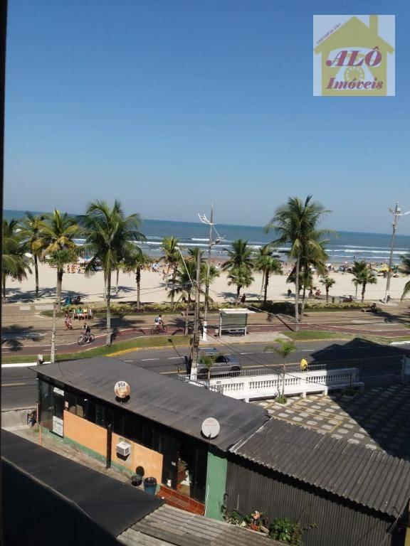 Apartamento com 1 dormitório para alugar, 53 m² por R$ 1.100,00/mês - Tupi - Praia Grande/SP