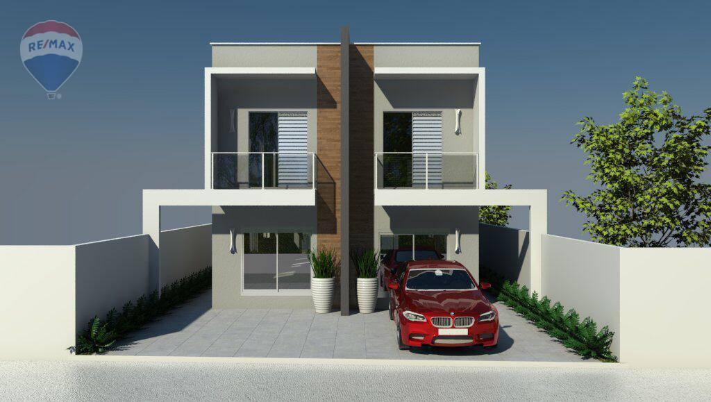 Sobrado novo com 3 dormitórios à venda, 190 m² por R$ 580.000 - Jardim Jaraguá - Atibaia/SP