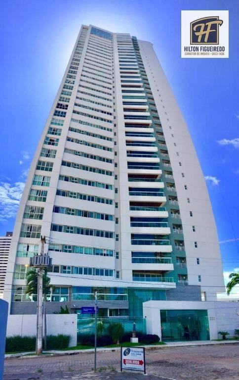 Apartamento com 4 dormitórios à venda, 215 m² por R$ 1.200.000 - Altiplano Cabo Branco - João Pessoa/PB