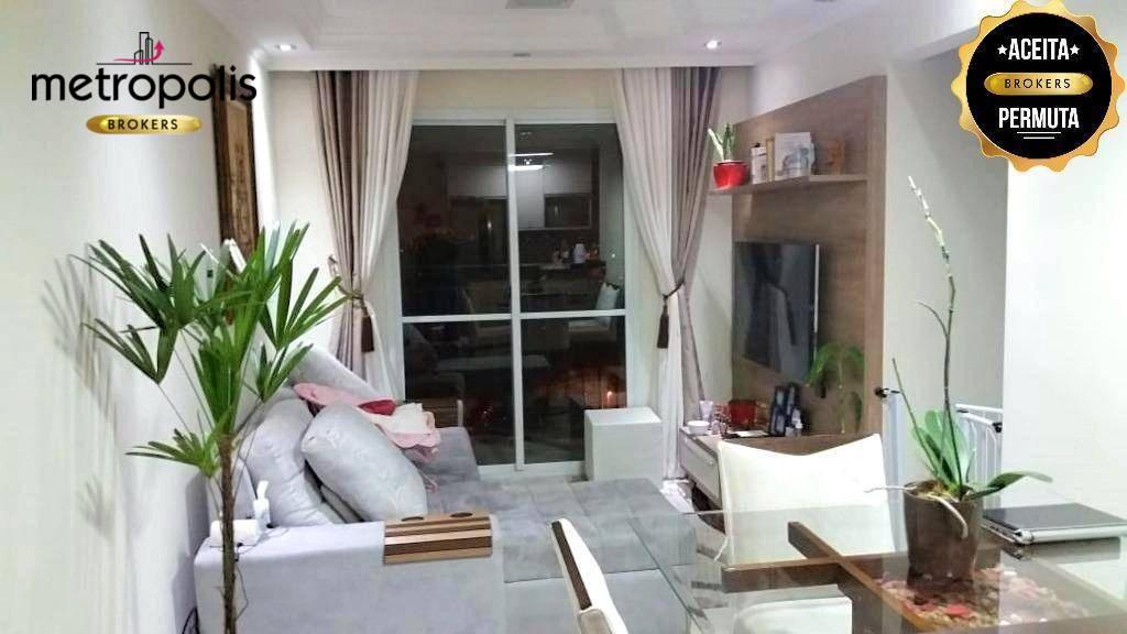 Apartamento à venda, 61 m² por R$ 360.000,00 - Parque das Jaboticabeiras - Diadema/SP