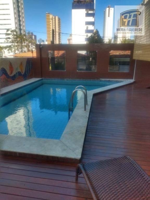 Apartamento com 3 dormitórios à venda por R$ 320.000 - Manaíra - João Pessoa/PB