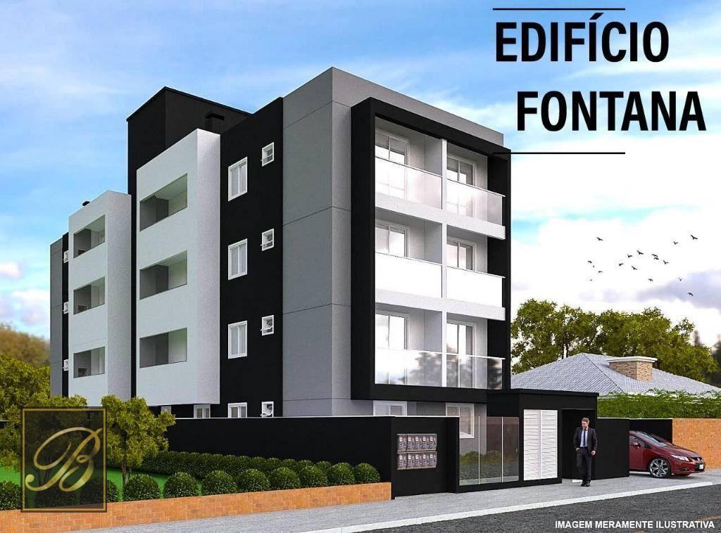 Apartamento com 2 dormitórios à venda, 116 m² por R$ 420.000 - Bom Retiro - Joinville/SC