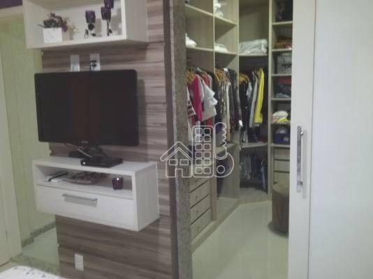 Apartamento com 3 dormitórios à venda, 124 m² por R$ 360.000 - Mutondo - São Gonçalo/RJ