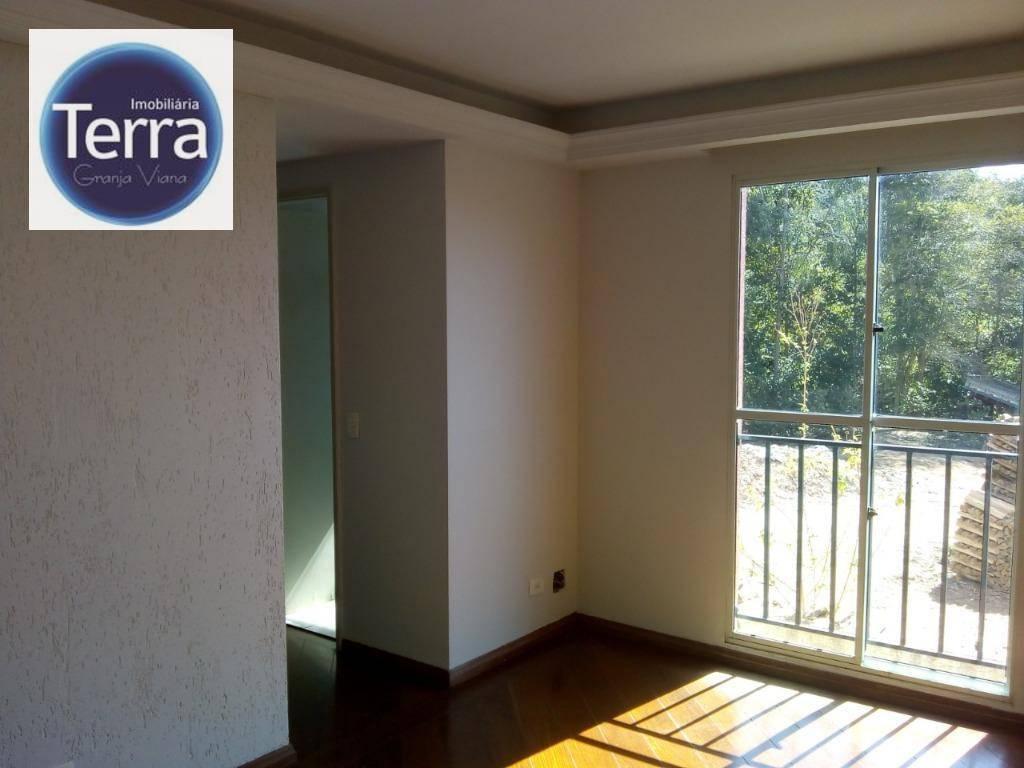 Apartamento com 2 dormitórios à venda, 45 m² por R$ 205.000 - Jardim da Glória - Granja Viana