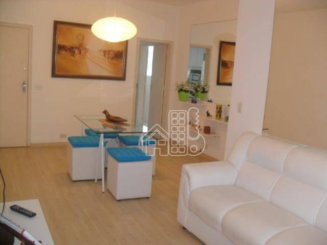 Apartamento com 2 dormitórios para alugar, 90 m² por R$ 3.400/mês - Copacabana - Rio de Janeiro/RJ