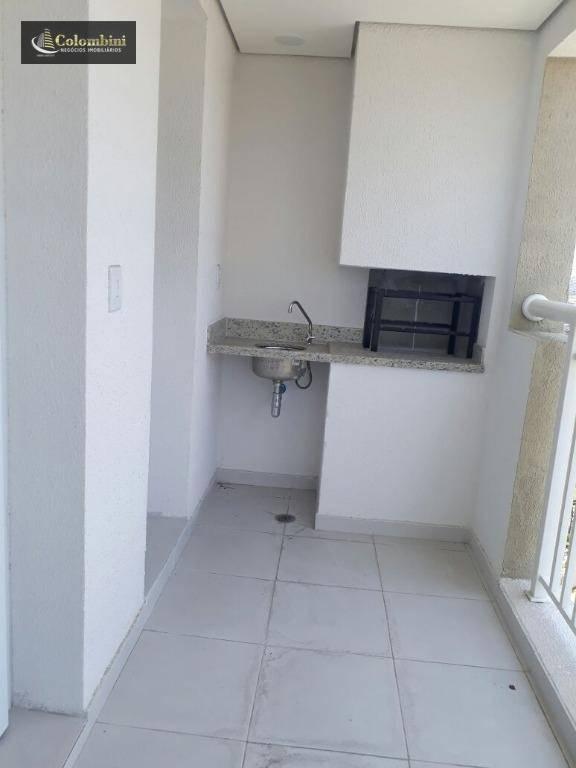 Apartamento residencial para locação, Campestre, Santo André
