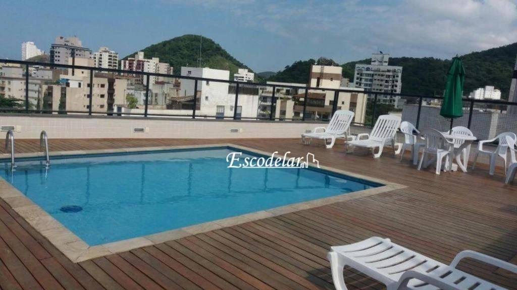 Apartamento com 1 dormitório à venda, 83 m² por R$ 195.000,00 - Jardim Três Marias - Guarujá/SP