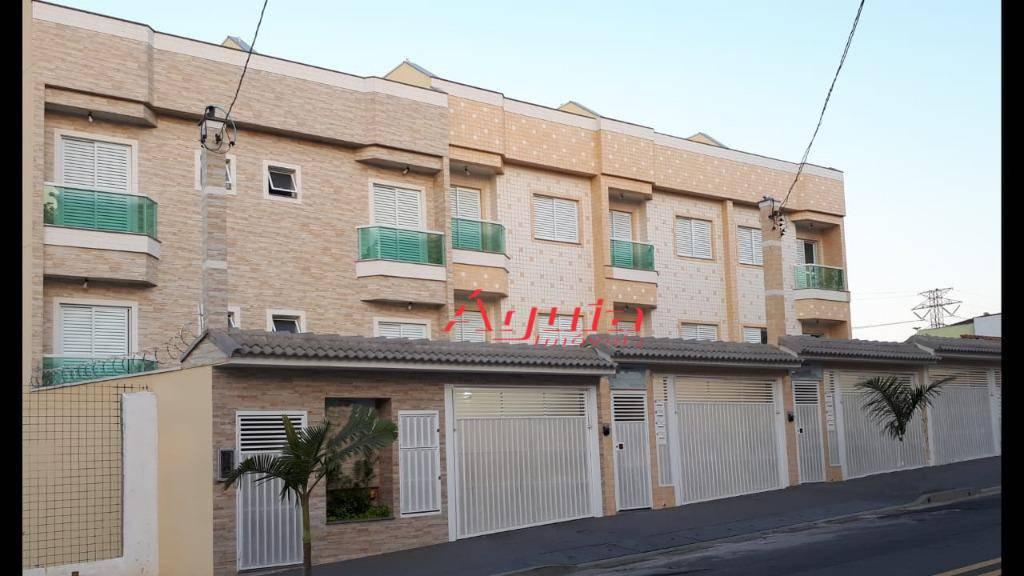 Apartamento com 3 dormitórios à venda, 71 m² por R$ 380.000 - Paraíso - Santo André/SP