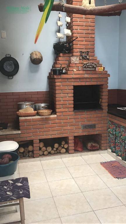 Sobrado com 3 dormitórios à venda, 215 m² por R$ 700.000 - Jardim Flor da Montanha - Guarulhos/SP