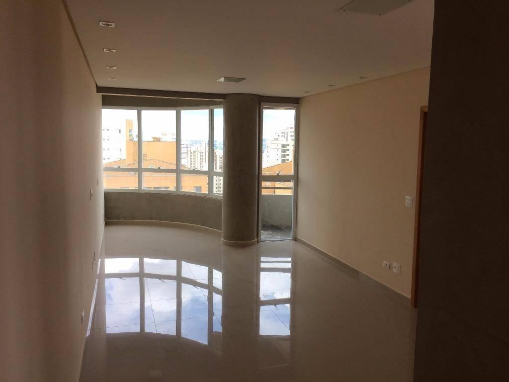 Apto novo p/ venda ou locação; 90 m², 2 dorm com 2 vagas. Jd