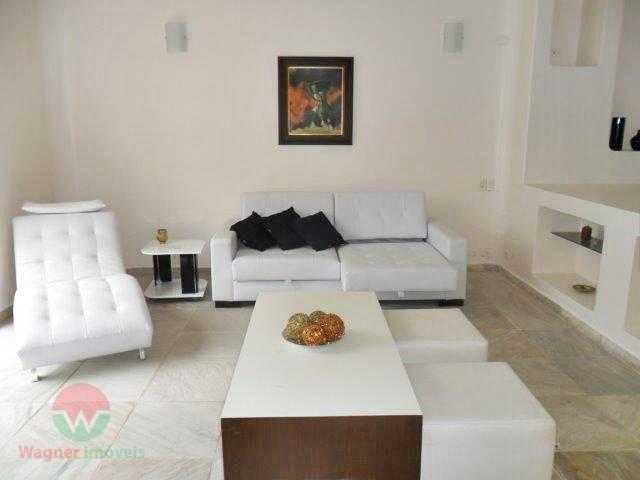 sobrado à venda no jardim acapulco em guarujá, sala com 3 ambientes, lareira e lavabo, 4...