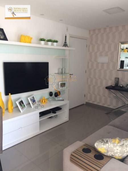 Apartamento Residencial à venda, Vila Augusta, Guarulhos - .
