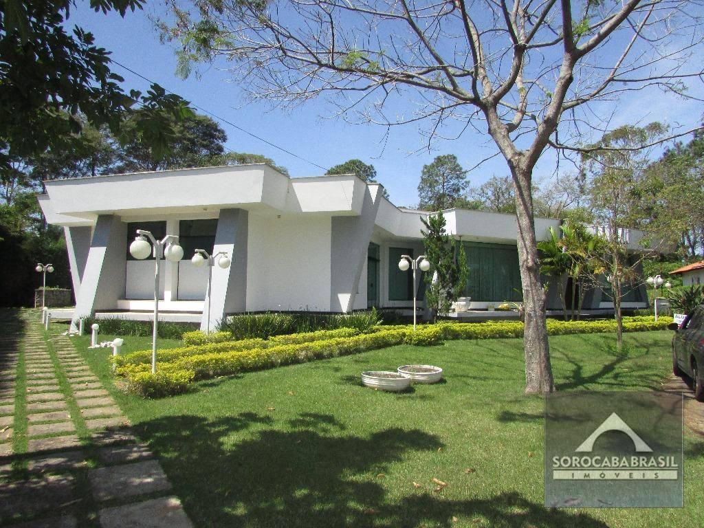 Casa com 3 dormitórios para alugar, 334 m² por R$ 6.500,00/mês - Lago Azul Condomínio e Golfe Clube - Araçoiaba da Serra/SP