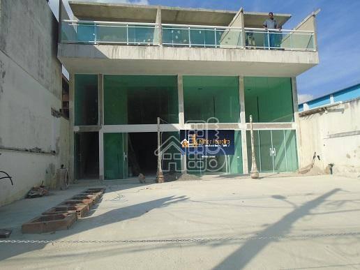 Loja para alugar, 180 m² por R$ 12.000,00/mês - São Francisco - Niterói/RJ