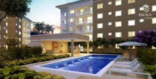 Apartamento com 2 quartos à venda, 47 m², área de lazer, 1 vaga, financia - Mondubim - Fortaleza/CE