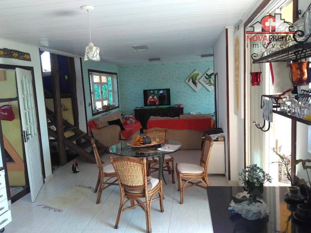 Sobrado de 2 dormitórios à venda em Pontal De Santa Marina, Caraguatatuba - SP