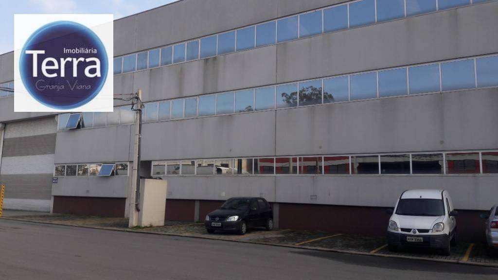 Galpão para alugar, 1270 m² por R$ 25.400,00/mês - Parque Alexandre - Cotia/SP