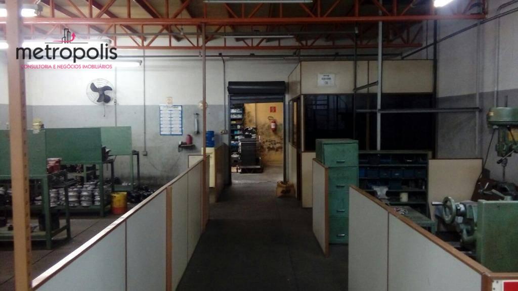 Galpão industrial à venda, Vila São Pedro, Santo André.