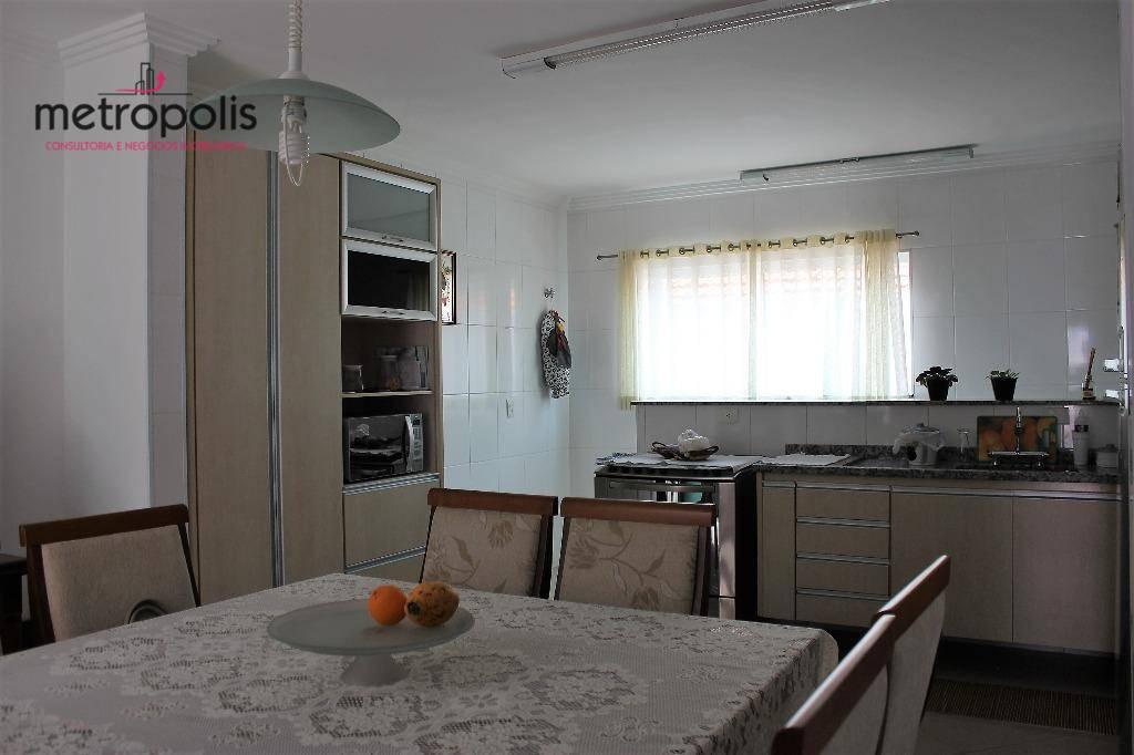 Sobrado residencial à venda, Santa Maria, Santo André - SO0117.