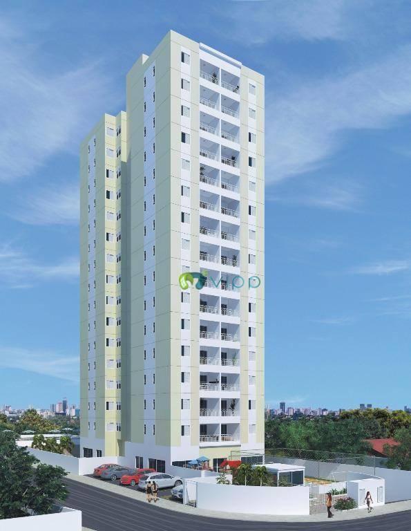 Apartamento com 2 dormitórios à venda, 63 m² por R$ 335.000,00 - Demarchi - São Bernardo do Campo/SP