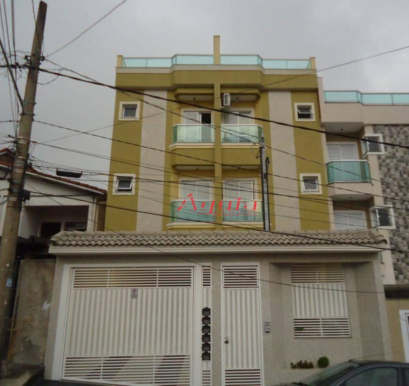 Cobertura com 2 dormitórios à venda, 128 m² por R$ 380.000 - Utinga - Santo André/SP