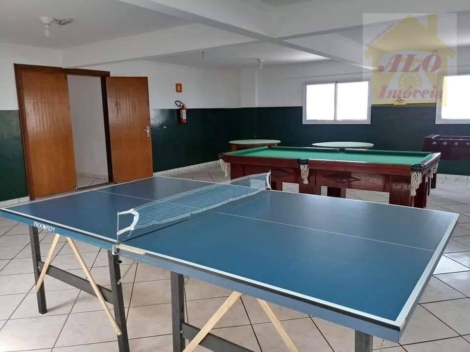Apartamento com 1 dormitório à venda, 40 m² por R$ 140.000 - Cidade Ocian - Praia Grande/SP