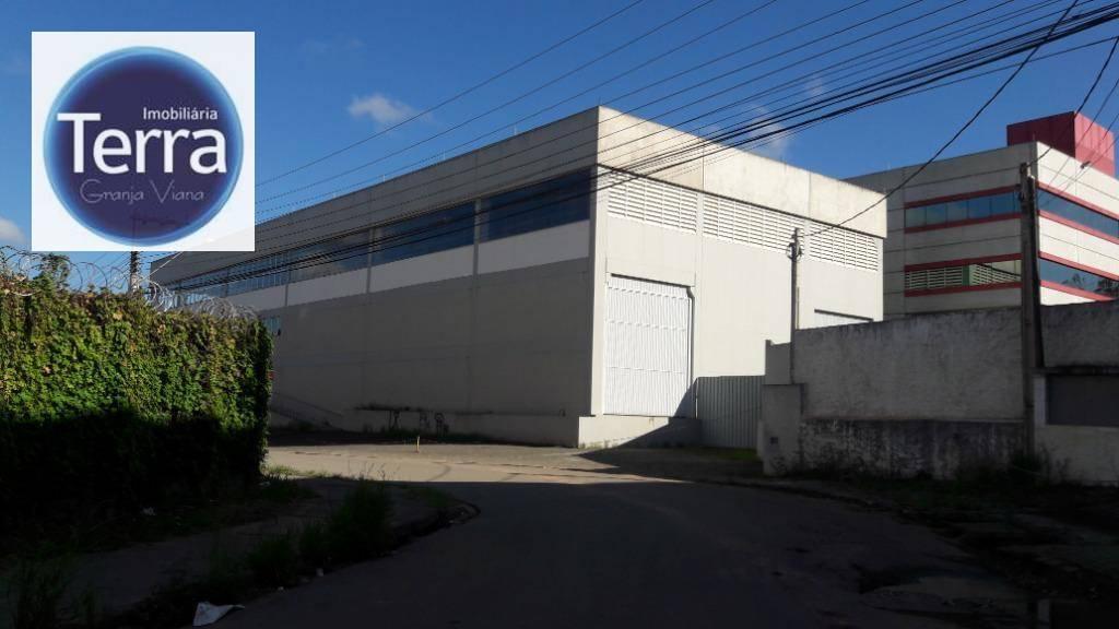 Galpão  industrial para locação, Raposo Tavares, Granja Viana.