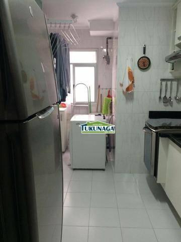 Apartamento com 2 dormitórios para alugar mobiliado, 59 m² com 1 suite - Gopouva - Guarulhos/SP