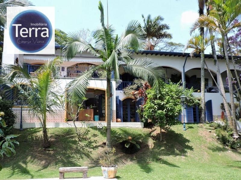 Casa com 4 dormitórios à venda, 500 m² por R$ 1.900.000,00 - Granja Viana - Cotia/SP