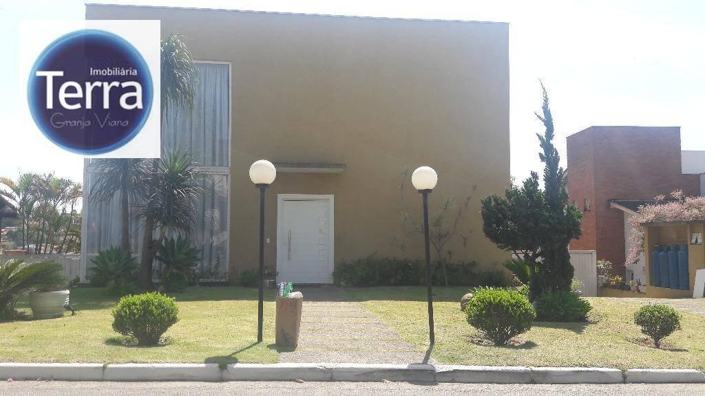 Casa residencial à venda, Residencial Euroville, Granja Viana.