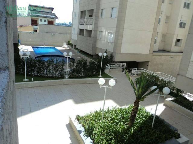 Apartamento com 2 dormitórios (1 suíte) à venda, 62 m² por R$ 350.000 - Vila Rosália - Guarulhos/SP