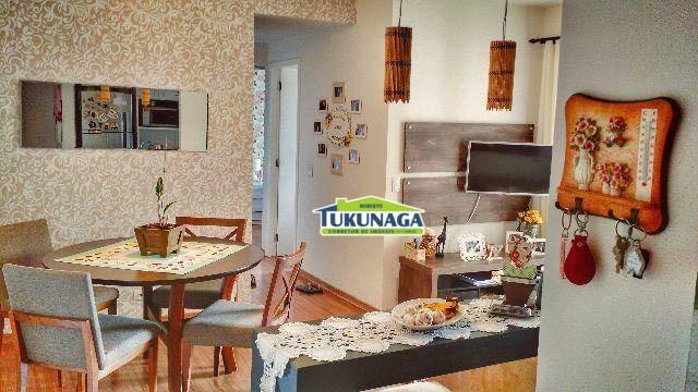 Apartamento à venda, 53 m² por R$ 275.000,00 - Ponte Grande - Guarulhos/SP
