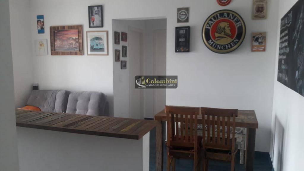Apartamento com 2 dormitórios à venda, 63 m² por R$ 430.000 - Centro - São Caetano do Sul/SP