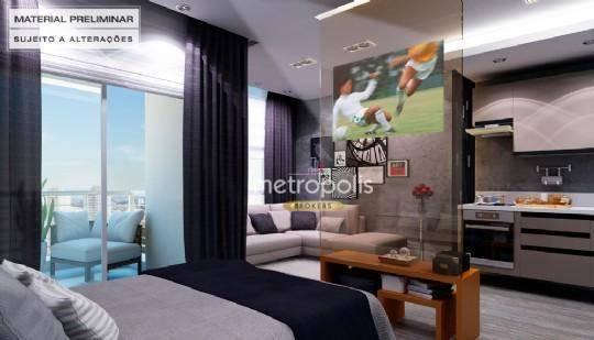 Loft com 1 dormitório à venda, 40 m² por R$ 304.000 - Jardim do Mar - São Bernardo do Campo/SP