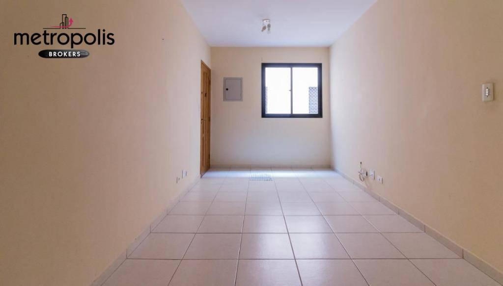 Apartamento com 2 dormitórios para alugar, 84 m² por R$ 1.500,00/mês - Nova Gerti - São Caetano do Sul/SP