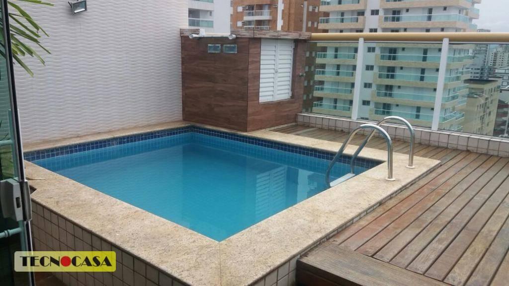 Cobertura Duplex Alto Padrão a Venda em Praia Grande a 150mtas do MAR!